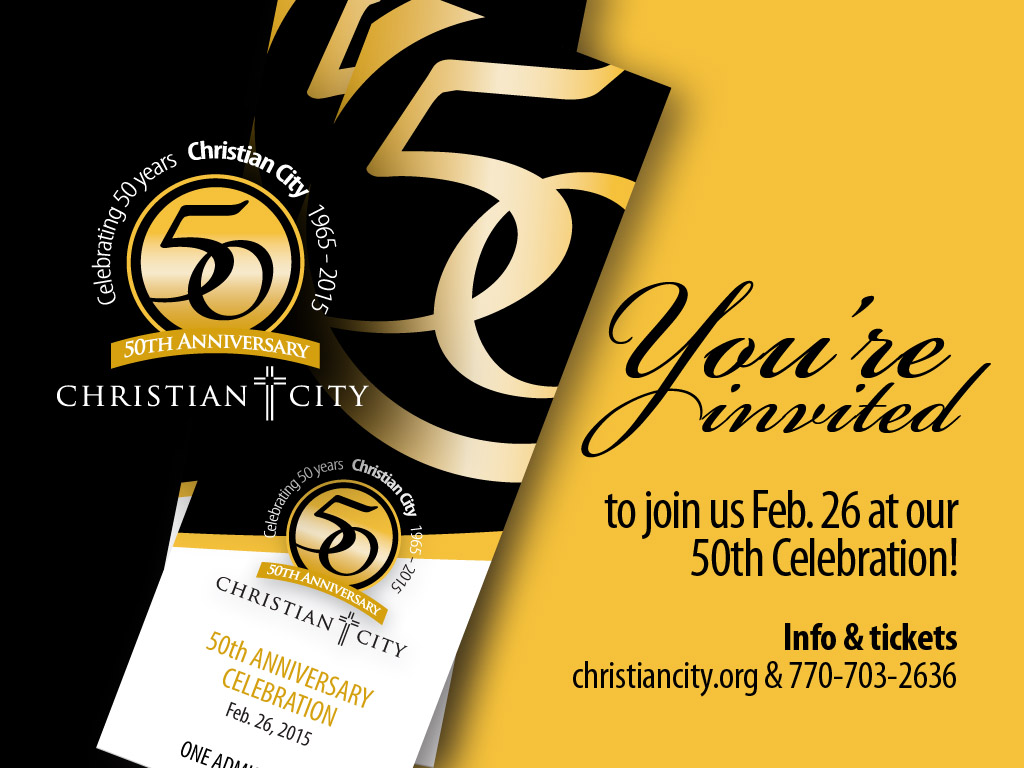 50th Anniversary Celebration Promotional Resources